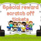 Scratch off tickets-rock star theme