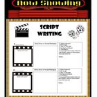 Script Writing Poster (using a storyboard)
