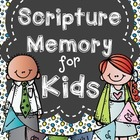 Scripture Memory for Kids (Whole Year)