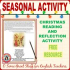 Scrooge--Christmas Reflection Activity