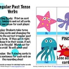 Sea Animals Irregular Past Tense Verbs