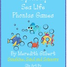 Sea Life Phonics Games