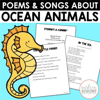Sea Life Poems & Songs