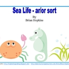 Sea Life - ar and or Word Sort