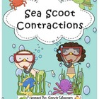 Sea Scoot Contractions Game (Set 1) L.2.2