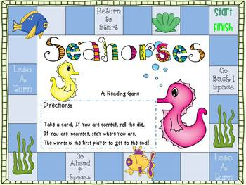 Seahorses Mini-Ocean Unit
