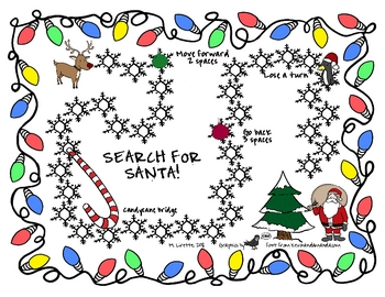 Search for Santa- Open-Ended Gameboard