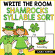 Searching for Shamrocks Syllable Sort