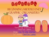 Seasonal Beginning-Middle-End Graphic Organizers FREEBIE