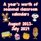 Seasonal Classroom Calendars