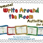 Seasonal Write Around the Room Activities {Set 2}