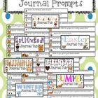Seasonal and Holiday Journal Writing Prompts