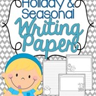 Seasonal and Holiday Writing Paper