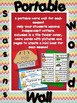 Seasons Portable Word Walls for independent Writing: Seaso