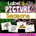 Seasons (Label the Picture) Printables include color and b