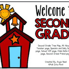 Second Grade Back to School Book