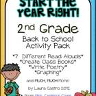 Second Grade Back to School Pack - Start the year right!