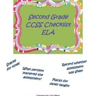 Second Grade CCSS ELA Checklist: User Friendly
