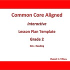 Second Grade Common Core Aligned Interactive Lesson Plan T