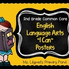 "Second Grade Common Core English / Language Arts ""I Can"" S"