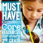 Second Grade Common Core Graphic Organizers and Posters (L