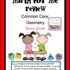 Second Grade: Common Core Math For Me Review Geometry