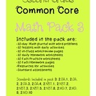Second Grade Common Core Math Pack #3