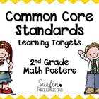 Second Grade Common Core Math Posters-Chevron