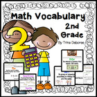 Second Grade Common Core Math Vocabulary