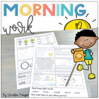 Second Grade *Common Core*  Math and ELA Morning Work 2nd