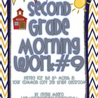 Second Grade *Common Core* Math and ELA Morning Work 9th M