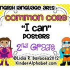 Second Grade Common Core Posters- ELA