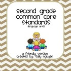 Second Grade Common Core Standards User-Friendly