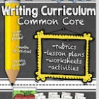 Second Grade Common Core Writing Curriculum