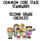 Second Grade Common Core Curriculum State Standards Checklist