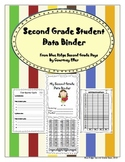 Second Grade Goal Setting And Data Student Binder