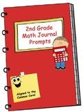 Second Grade Math Journal - Math Journal Prompts Aligned t
