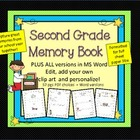 Second Grade Memory Book: Write About End of Year Memories