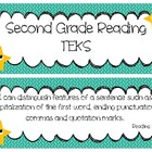 Second Grade Reading TEKS Cards 