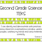 Second Grade Science TEKS~ Lime Zebra