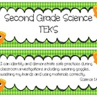 Second Grade Science TEKS