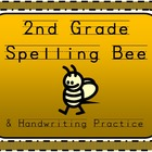 2nd Grade Spelling Word Handwriting Practice