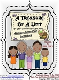A Treasure Of A Unit For 2nd Grade : African-American Inve