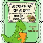 A Treasure Of A Unit For 2nd Grade: Meet The Super Croc {C