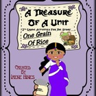 Second Grade Treasures: One Grain Of Rice ~ Resource Packe