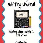 Second Grade Weekly Writing Journal Reading Street, Unit 4