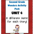 Second Grade Wonders Reading Unit 4: 6 Different Items for