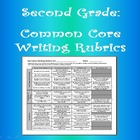 Second Grade Writing Grade Sheet, Common Core CCGPS
