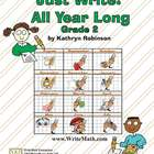 Second Grade Writing Lessons, Activities, Prompts - Comple