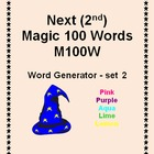 Second Next Magic 100 Words -M100W- 2nd- Interactive